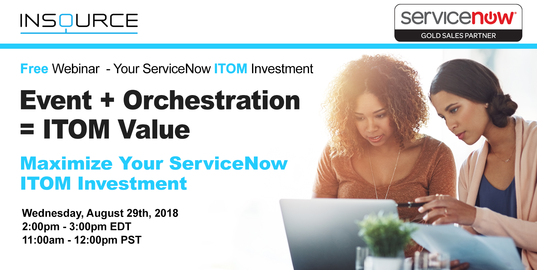 ServiceNow ITOM Free Webinar- Event and Orchestration- InSource