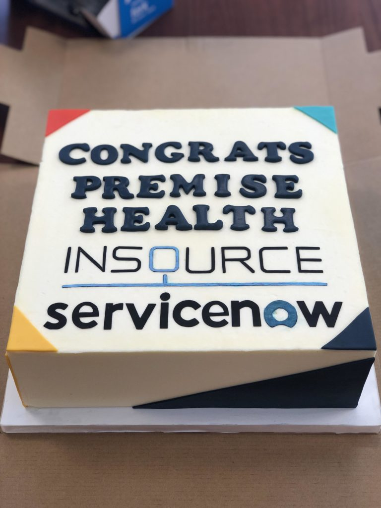 Premise Health ServiceNow Go Live- ServiceNow Partners- InSource