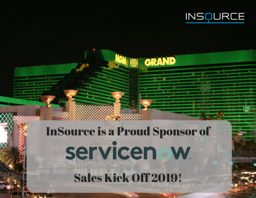 InSource is a proud sponser of ServiceNow