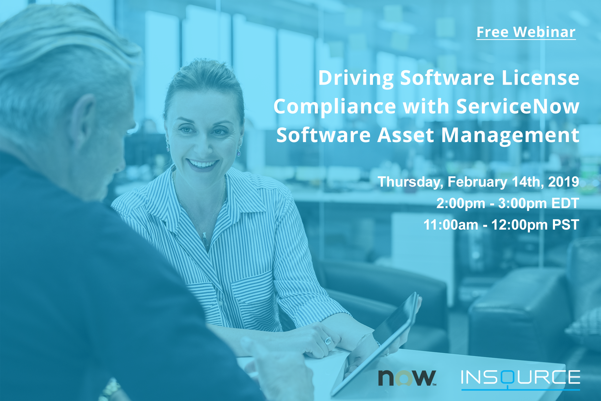 Driving Software License Compliance With ServiceNow Software Asset Management- ServiceNow Webinar- InSource